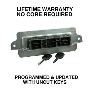 Engine Computer Programmed With Keys 2007 Ford Mustang 7r3a 12a650 Alb Xze1 4 6l