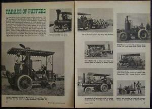 Maryland Steam Tractor Reunion 1963 Parade Pictorial