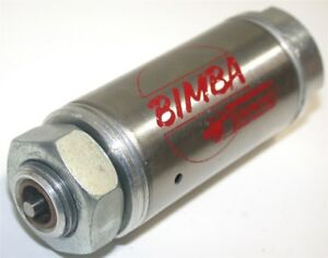 New Bimba Altered Spring Return 1 2 Stroke Stainless Air Cylinder 090 5