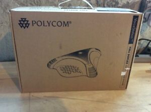 New Polycom Voicestation Bluetooth Vs500 Full Duplex Conference Speakerphone