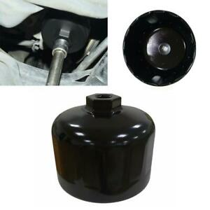 Black Oil Filter Wrench 86mm Cartridge Filter Housing Caps For Bmw 1 2 3 4 5 6 7