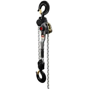 Jet 376703 Jlh Series 9 Ton Lever Hoist 20 Lift With Overload Protection