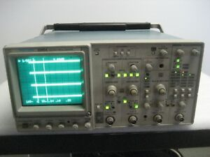 Tektronix 2245a 100 Mhz Oscilloscope Power Tested Only For Parts As Is