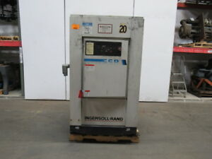 Ingersoll Rand Ssr ep40se 40hp Rotary Screw Air Compressor 125psi 153cfm