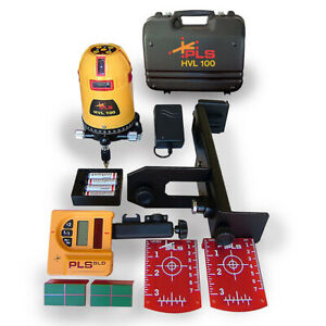 Pacific Laser Systems Pls 60561 Multi Line Laser Tool With Sld Detector