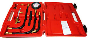 0 100 Psi Fuel Injection Pump Pressure Injector Tester Test Pressure Gauge Kit
