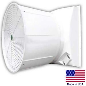 55 Fiberglass Exhaust Fan 33 400 Cfm 208 230 460v 2hp Belt Driven 3ph