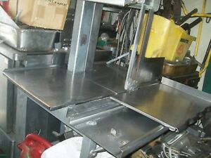 Hobart Meat Saw Model 5701d 208 230 3 Ph 3 Hp No Blade h duty 900 More Items