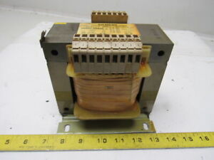 Siemens 4am5541 8ac40 0b 220 240 V Pri 110 220v Sec 50 60hz Transformer