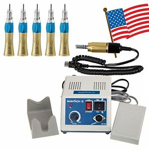Dental Lab Marathon 35k Rpm Electric Micro Motor 5 slow Speed Handpiece M iii3