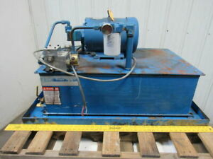 Eaton Vickers Pssca1030v013 7 1 2hp Hydraulic Power Unit 40 Gal 230 460v