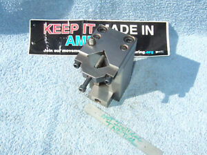 V block Fixture With Clamp N Stop Used Toolmaker Machinist Surface Grind Fixture