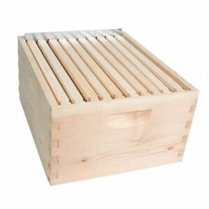 Gl 1b spcr Beekeeping Beehive Brood Kit With Frames Foundation Brood Box Spacer