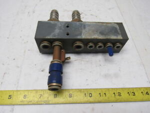 Avs Romer V 43 0077 10 zf Composite Pneumatic Manifold Block From A L3030 Laser