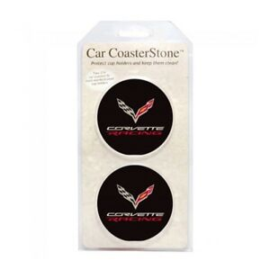 C7 Corvette Racing Cup Holder Coaster Inserts Set Of 2