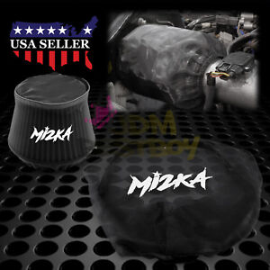 Black Engine Air Intake Pre Filter Cone Conical Filter Cover Ram Pickup