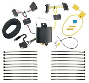 Trailer Wiring Harness Kit For 14 18 Mercedes benz Sprinter 2500 3500 All Styles