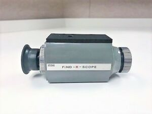 Fjw Find r scope Ir Viewer 85050a As Is