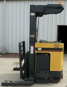 Caterpillar Model Nrr30 2003 3000 Lbs Capacity Great Reach Electric Forklift