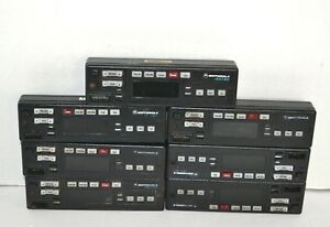 Lot Of 7 Motorola Hln6432d Astro Spectra Control Heads black