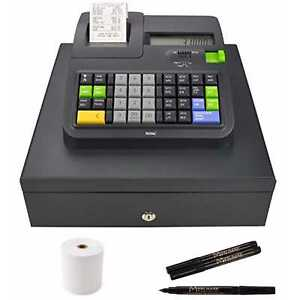 Royal Consumer 310dx Cash Register With Thermal Paper And Bill Detector Pens