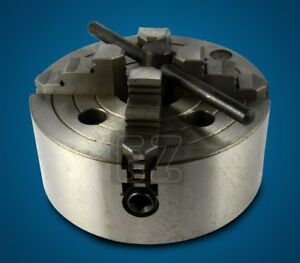 6 4 Jaw Independent Flat Back Lathe Chuck 4 jaw