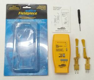 New Fieldpiece Ath4 Hvac r Dual Temperature K type Thermocouple Accessory Head