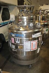 Cryofab Cmsh 500 Lhe Container Praxair Liquid Helium Container 500 Liters