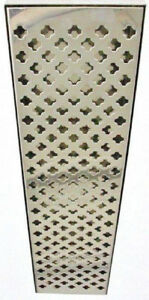 Drip Tray dump Style 23 3 4 X 6 X 1 1 4 Med Stainless Steel No Drain Socket