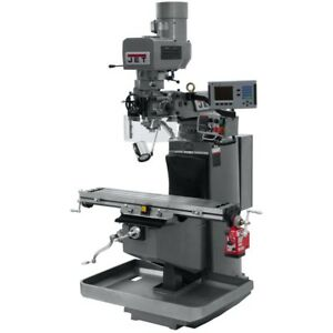 Jet 690520 Jtm 949evs Mill With Acu rite 200s Dro With X axis Powerfeed