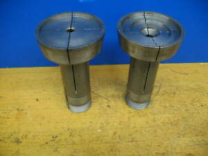 2 Hardinge 20c Extra Depth 4 Emergency Step Chuck Machinable Collets