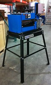 Package Deal Ws 212 Wire Stripping Machine Copper Stripper With Bluerock Stand