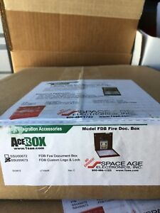 Acerox Fdb Fire Document Box Space Age Electronics Records Storage Integration