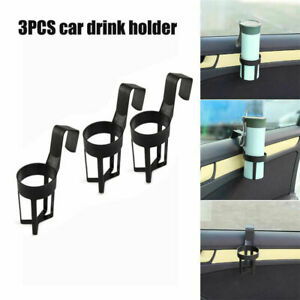 3 X Pcs Universal Car Truck Drink Water Cup Bottle Can Holder Door Mount Stand