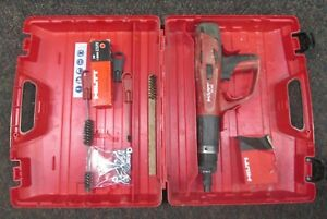 Hilti Dx460 Dx 460 Powder Actuated Nail Gun Fastening Tool W Case And Extras