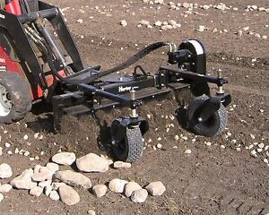 Toro Dingo Harley Landscape Rake 4 For Mini Skid Steer Loaders the Original