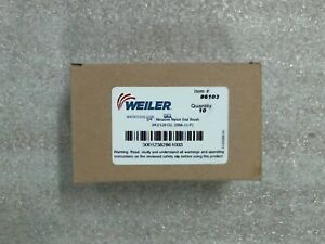 Nib Pack Of 10 Weiler 86103 3 4 Nylox Coated Cup End Brushes 60 Day Warranty