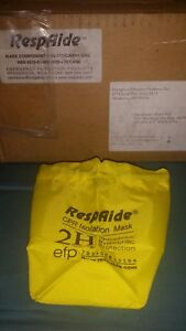 72 Respaide Yellow Draw String Nylon Bags For 2h Cpr Mask Kit R2 111 Paramedic