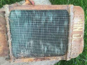 John Deere Antique Tractor Radiator