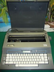 Smith Corona Typewriter Sd250 Spell Right Ii Dictionary