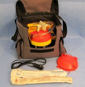 Laerdal Compact Suction Unit Lcsu 880020 With Carry Case