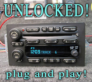 Gmc Chevy Truck 2004 2005 2006 Radio Am Fm 6 Disc Cd Player Part Number 15196055