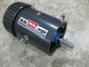 Warn 68608 New Replacement Electric Winch Drive Motor 9 5xp 9 5 Xp 6hp 4 5 12v
