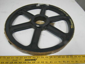 Browning 2r5v212 Cast Iron Pulley Sheave 2 Groove 5v 21 1 8 Od R1 Bushing