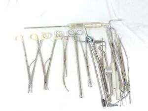 Orthopedic Surgical Instruments Tools Lot Zsi Ethicon Codman V Mueller Forceps