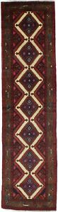 Wonderful Handmade Runner Chenar Hamadan Persian Rug Oriental Area Carpet 3x10