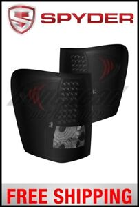 Spyder Xtune Jeep Grand Cherokee 99 04 Led Tail Lights Black Smoked