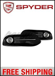 Spyder Dodge Dart 2013 2015 Oem Fog Light W Universal Switch Clear