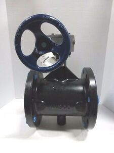 Nibco Fd 5765 5 Series Ductile Iron Butterfly Valve With Epdm Encapsulated Ducti