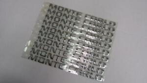 Oem 10 Lot Chevy Monte Carlo Trunk Rear Emblem Name Plate Badge Sign 10340236